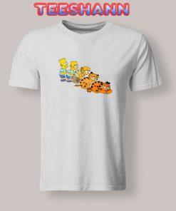Tshirts Bart x Garfield
