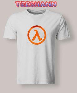 Tshirts GEEK Half Life Rust Logo