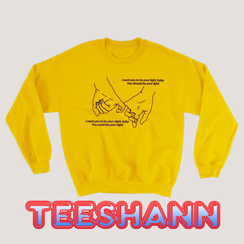 Sweatshirt BTS Jimin Promise aesthetic