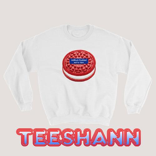 Sweatshirt Red Cookie Supreme