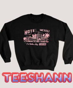 Sweatshirt Hotel Motel Retro Vintage 50s