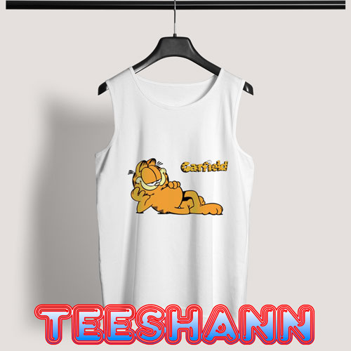 Cartoon Garfield Tank Top