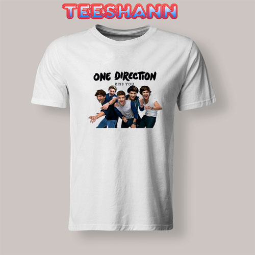 One Direction Kiss You Tshirt