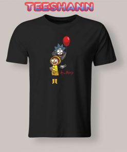 Parody IT Rick And Morty T-Shirt