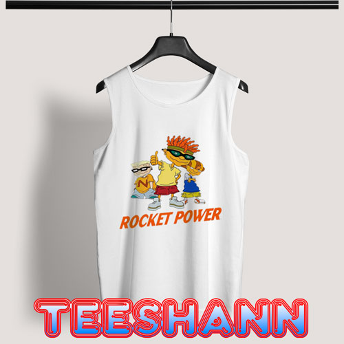 Rocket Power Cartoon Tank Top Nickelodeon Size S - 3XL