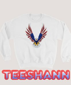 4th Of July Eagle Sweatshirt Graphic Tee Size S - 3XL