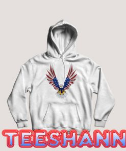 4th Of July Eagle Hoodie Graphic Tee Size S - 3XL