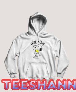 Free Hugs Snoopy Hoodie Cute Snoopy Size S - 3XL