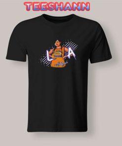 Aaliyah Mashup Lakers T-Shirt Unisex Adult Size S - 3XL