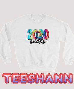 2020 Sucks Rainbow Sweatshirt Slogan Size S - 3XL