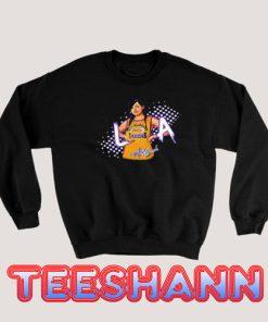 Aaliyah Mashup Lakers Sweatshirt Unisex Adult Size S - 3XL