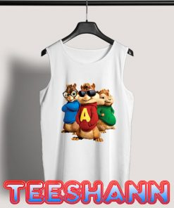 Alvin And The Chipmunks Tank Top Movie Size S - 3XL