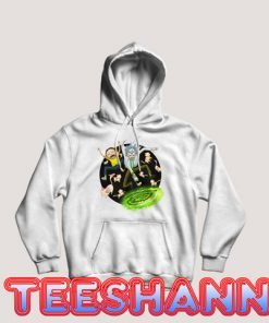 Rick And Morty Fly Hoodie Cartoon Network Size S - 3XL