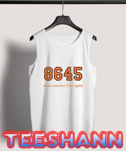 8645 Make America Think Again Tank Top Unisex Adult Size S - 3XL