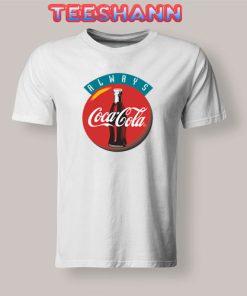 90s Always Coca Cola T-Shirt Vintage Tee Size S - 3XL