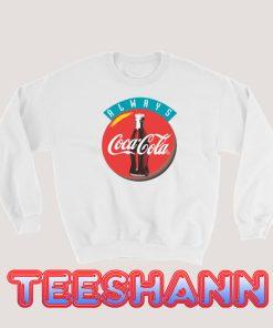 90s Always Coca Cola Sweatshirt Vintage Tee Size S - 3XL