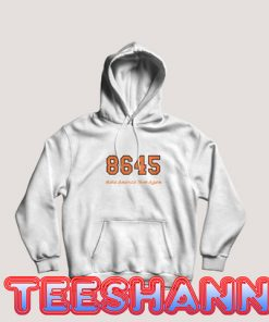 8645 Make America Think Again Hoodie Unisex Adult Size S - 3XL