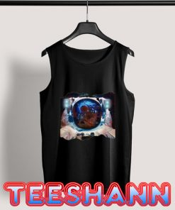 Astronaut Space Octopus Tank Top Adult Size S - 3XL
