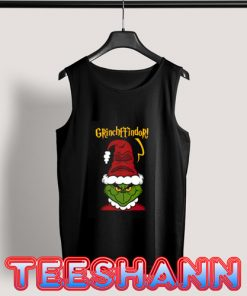 Grinchffindo Christmas Tank Top Adult Size S - 3XL