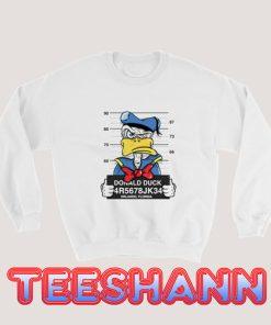 Donald Duck Florida Sweatshirt