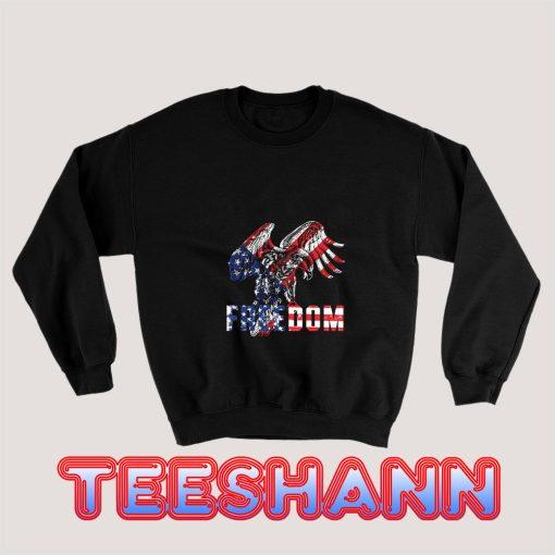 Freedom-Usa-Flag-Eagle-Sweatshirt