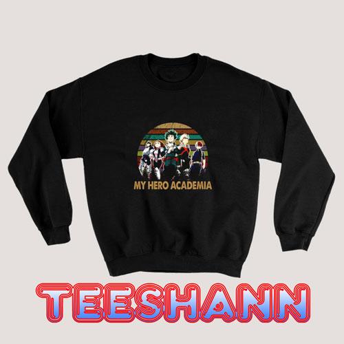 Vintage Boku No Academia Sweatshirt