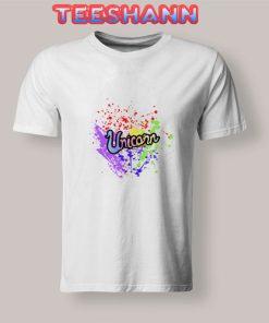 Unicorn Rainbow Pride T Shirt