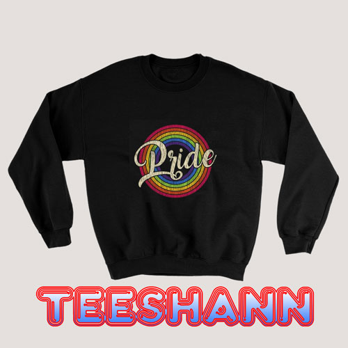 Gay Pride Vintage Sweatshirt