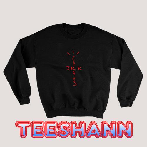 Cactus Jack Red Sweatshirt